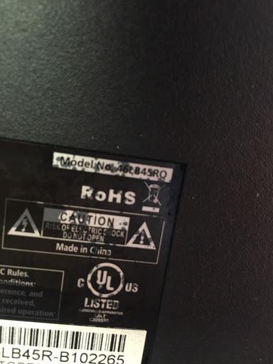 TV Repair RCA  46LB45RQ